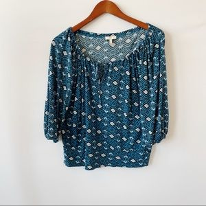 Joie top floral blue Small